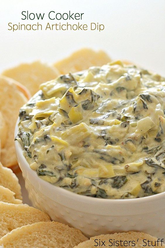 ★★★★☆ 7561 ratings | SLOW COOKER SPINACH ARTICHOKE DIP RECIPE #HEALTHYFOOD #EASYRECIPES #DINNER #LAUCH #DELICIOUS #EASY #HOLIDAYS #RECIPE #SLOW #COOKER #SPINACH #ARTICHOKE #DIP #RECIPE