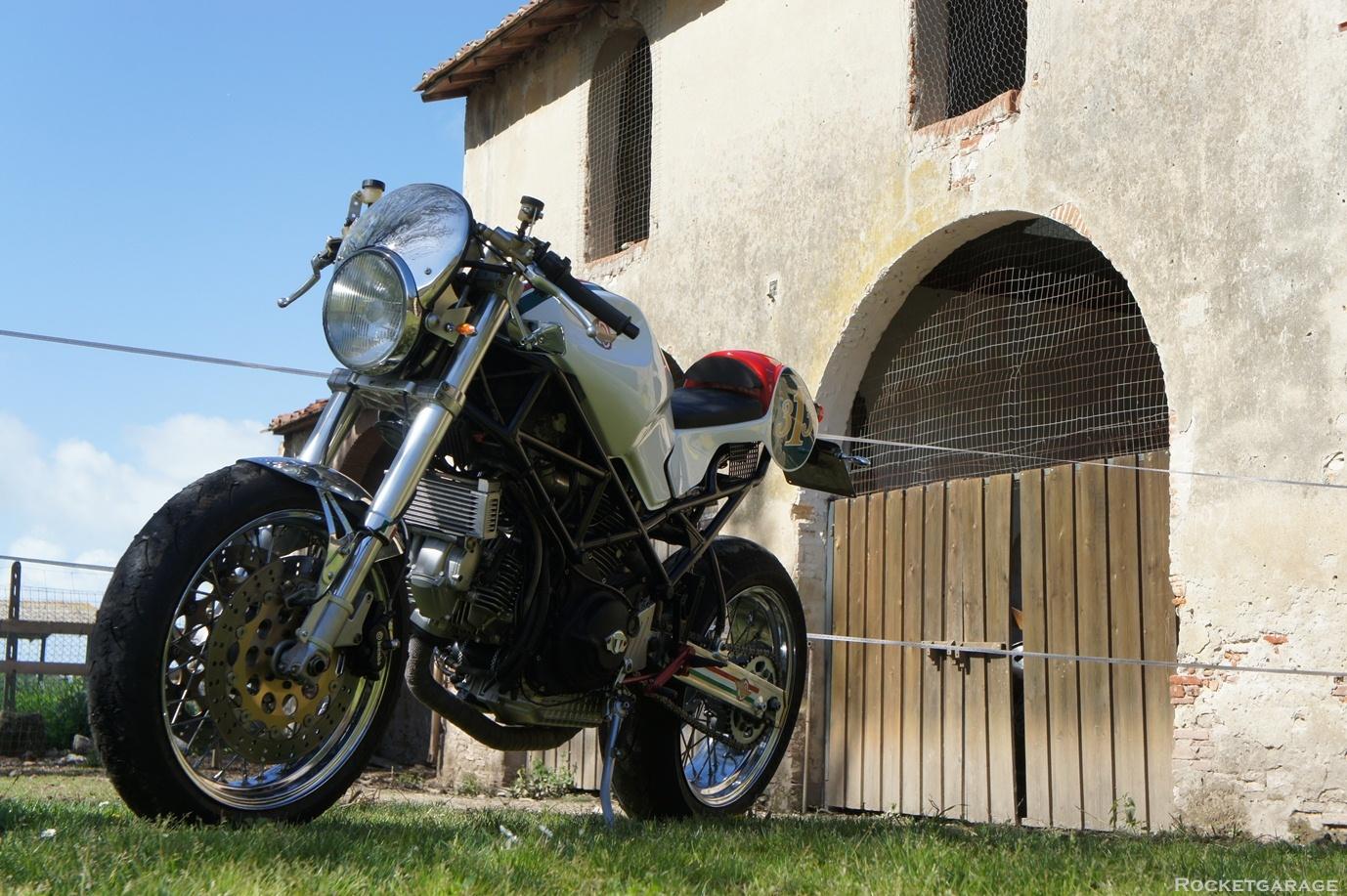 monster nasty donkeyluis moto - rocketgarage - cafe racer magazine