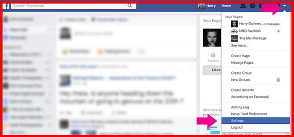 how to change name on facebook account