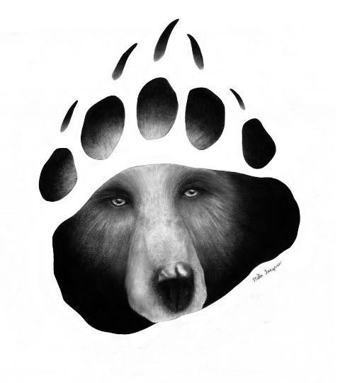 Bear Claw Face Paint