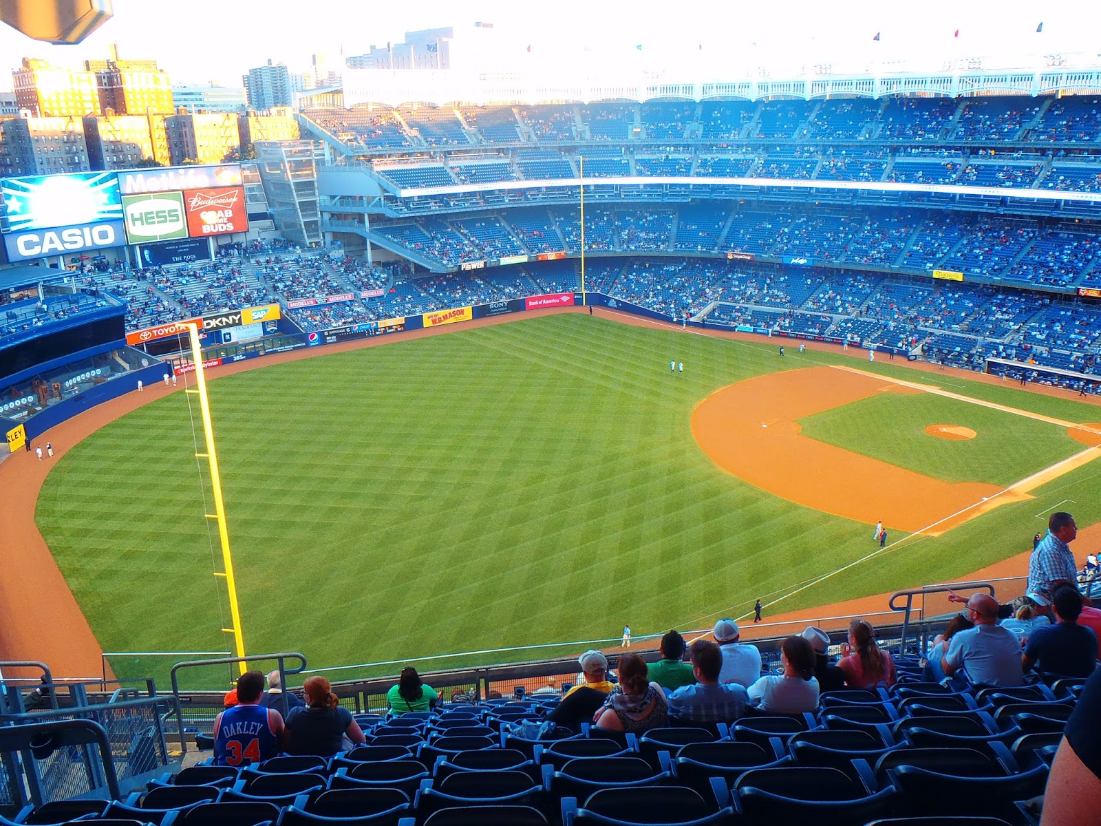 Yankee Stadium Baseball Game