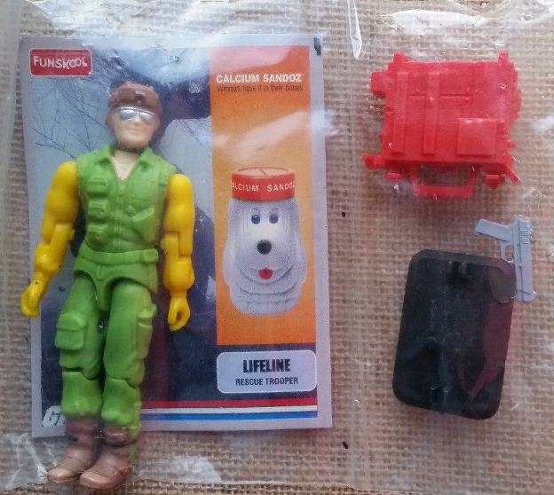Funskool Calcium Sandoz Stormshadow Figures, Big Boa, Blaster, Captain Grid Iron, Psyche Out, Deep Six, Desert Scorpion, Lifeline, Sci Fi