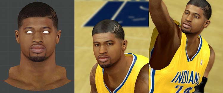 Paul George PG24 Hair Design