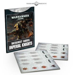 Hojas de datos Imeprial Knights