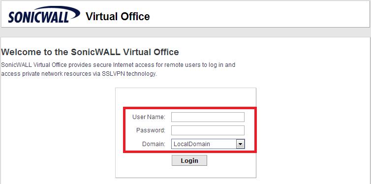 SonicWALL SSL VPN 設定  Fred's Blog