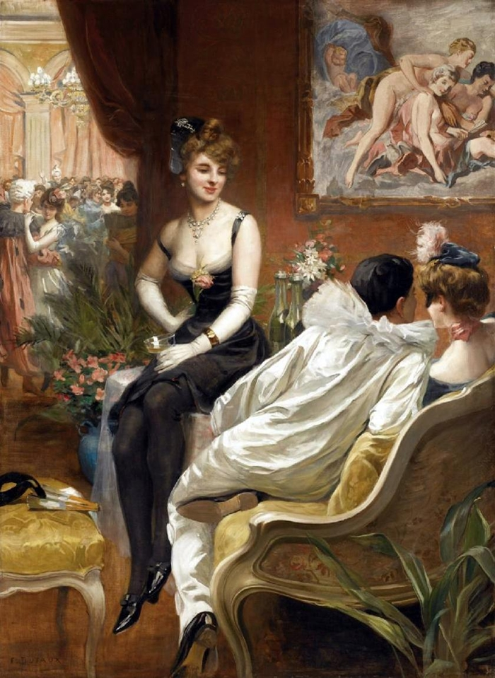 Albert Lynch 1851-1912 | Peruvian painter | Belle Époque