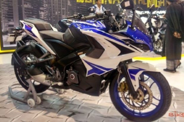 Bajaj Pulsar RS200 Blue Edition