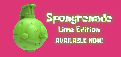 "Spongrenade Lime Edition 4"" Resin Figure by Nathan Cleary"