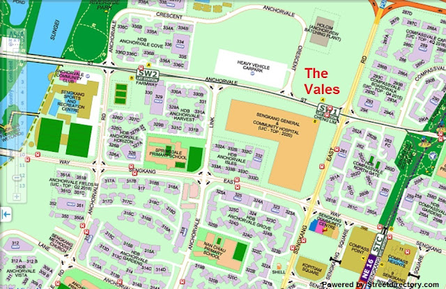 The Vales EC Location