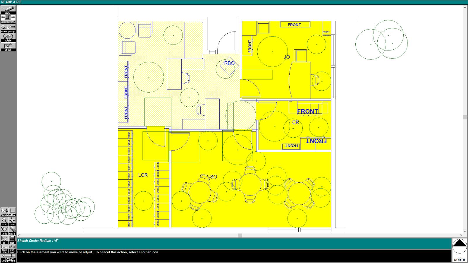 Schematic Design Interior Layout Alt 2