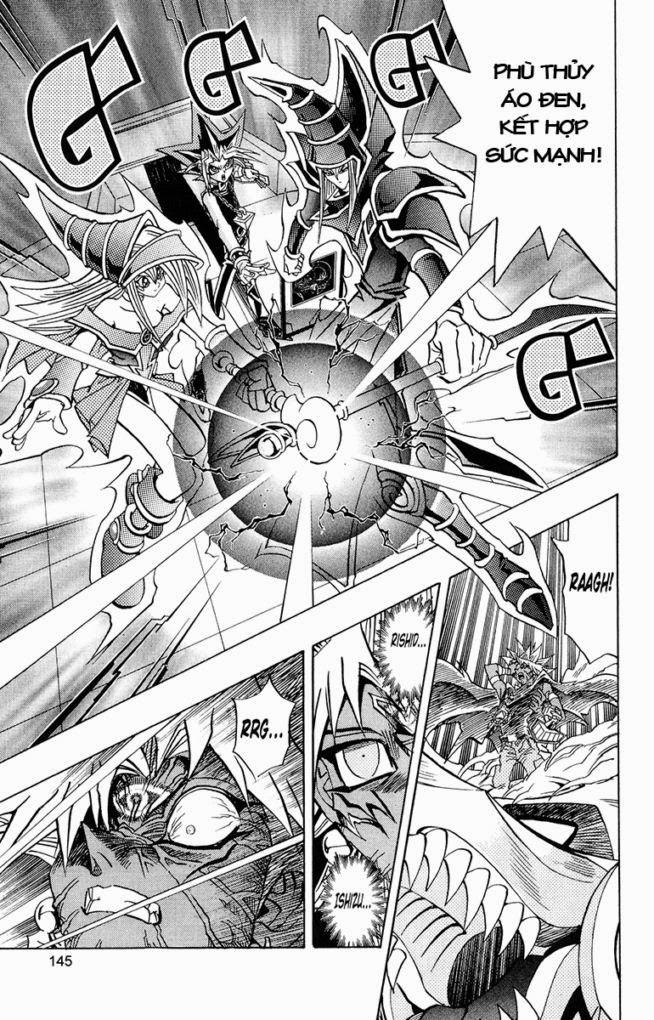 YUGI-OH! chap 275 - chỉ 1 điểm gốc trang 19