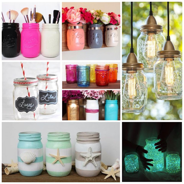 Decora tu hogar con botellas y frascos de vidrio for Como decorar el hogar