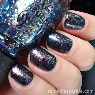 China Glaze Moonlight the Night Layering