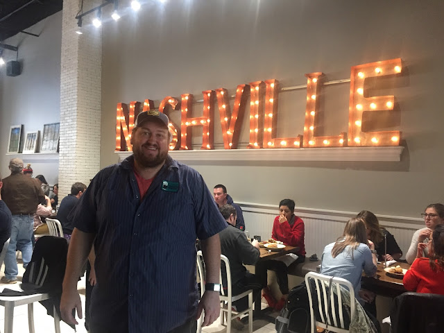 Jay Ducote at Biscuit Love in Nashville