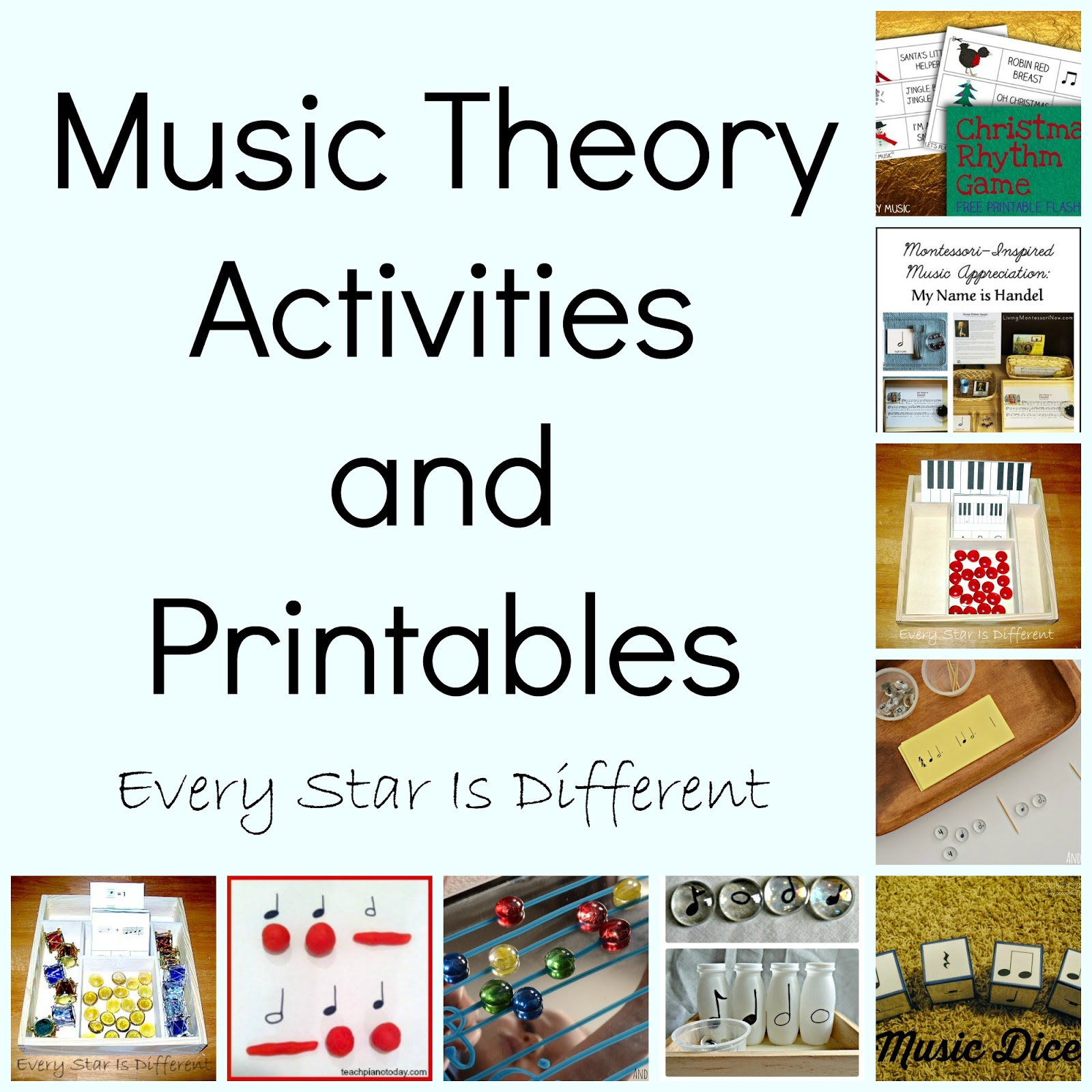Montessori Inspired Music Activities