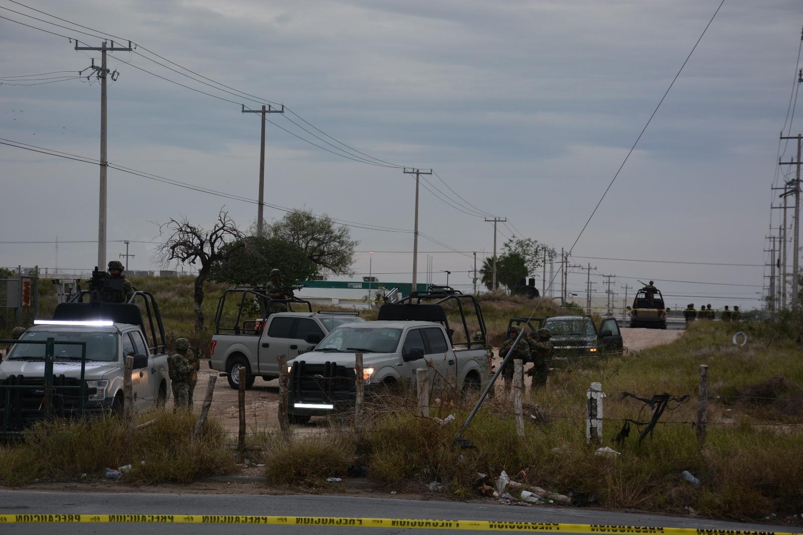 Combaten aire–tierra; Fallido escape en Reynosa: 3 muertos
