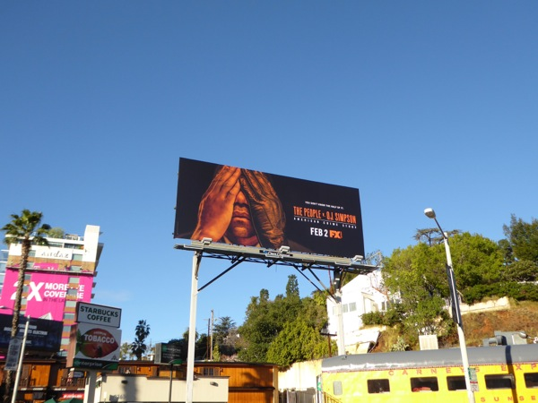 People v OJ Simpson series billboard