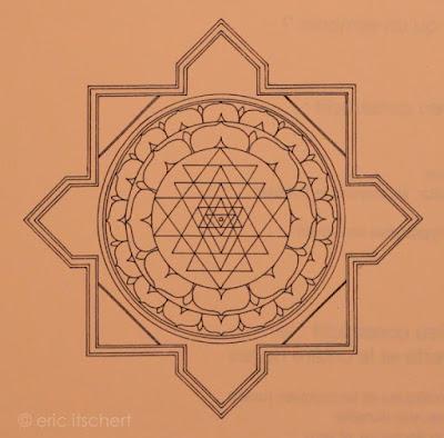 mandala, hindouisme, bouddhisme, centre, bouddha, cercle, shri yantra