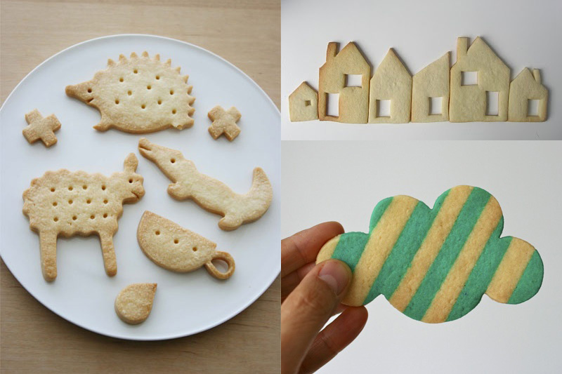 Decora y estampa galletas con sellos