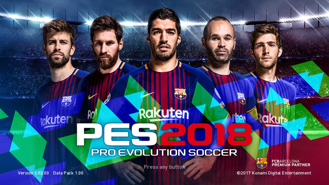 Download Game PES 2018 PS3 PKG (NPEB/BLES02252)