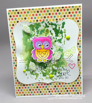 What A hoot | Newtons Nook Designs | Card Created by Danielle Pandeline