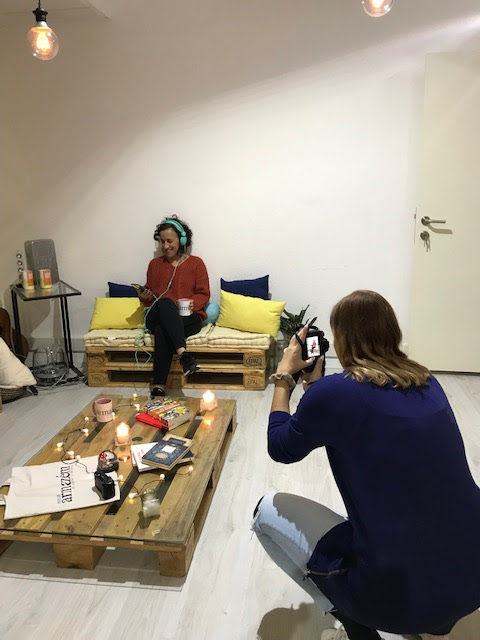 sessão fotográfica com Margarida Pestana
