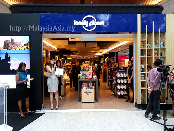 Lonely Planet Outlet Malaysia KLIA