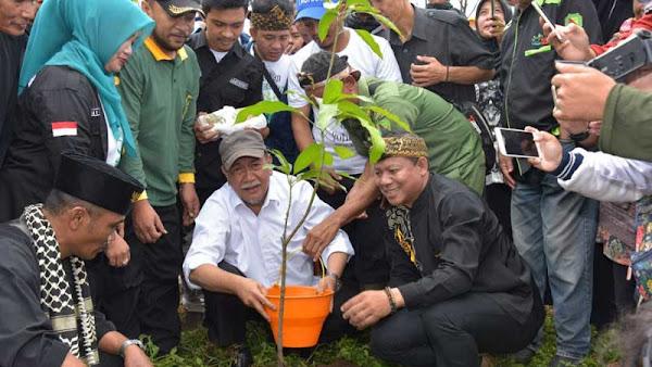 Demiz : Kawasan Hijau di Jawa Barat Sudah Mencapai 37%