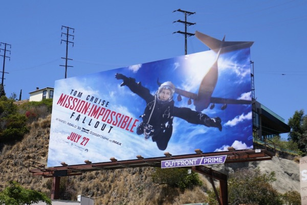Mission Impossible Fallout extension cut-out billboard