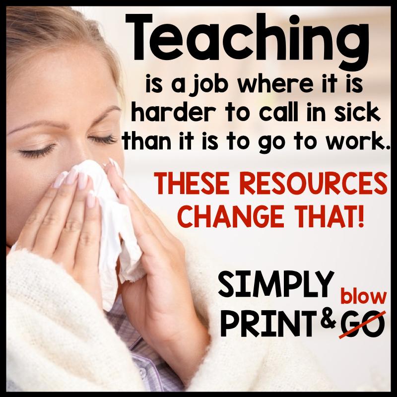 How To Plan For A Sub, Write Sub Teacher Plans & Make A