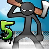 download Anger of Stick 5: Zombie mod apk