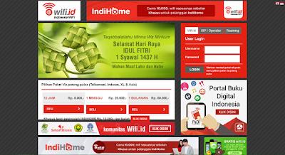 Cara Daftar Wifi ID untuk Kartu Telkomsel, Indosat, XL, Axis 8