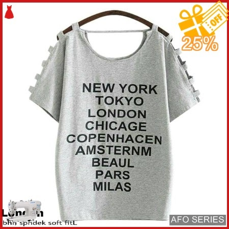 AFO680 Model Fashion London Blouse Modis Murah BMGShop