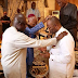 Senator Godswill Akpabio Receiving Special Prayers In His Mansion( SEE PHOTOS)