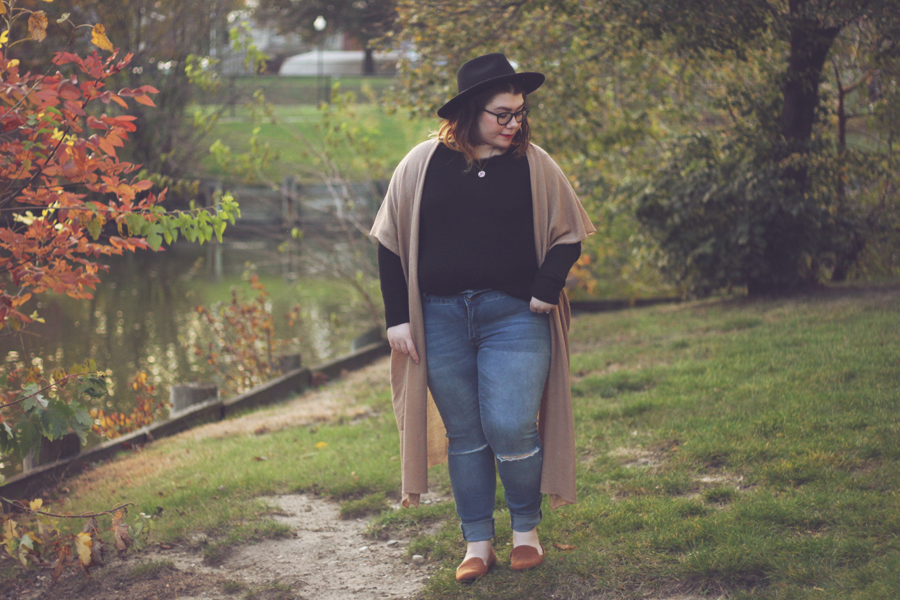 Duster | katielikeme.com duster cardigan outfit