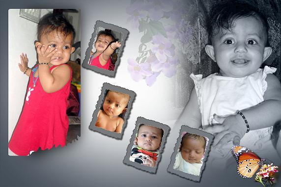 Photo Album Design Baby
