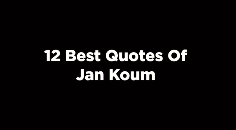 12 Best Quotes Of Jan Koum. [video]