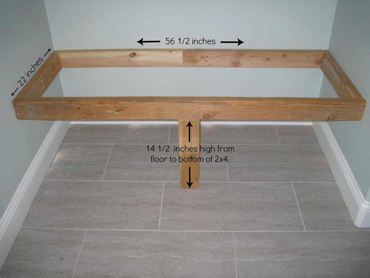 Woodwork Built In Bench Plans PDF Plans