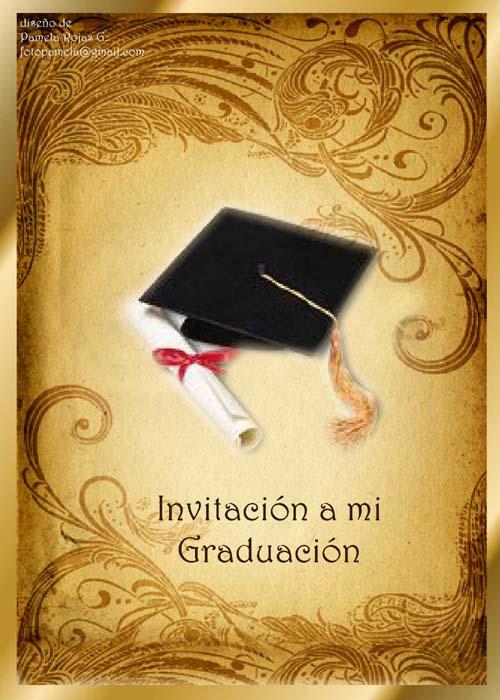 Tarjetas De Invitación Para Grado De Bachiller Imagui