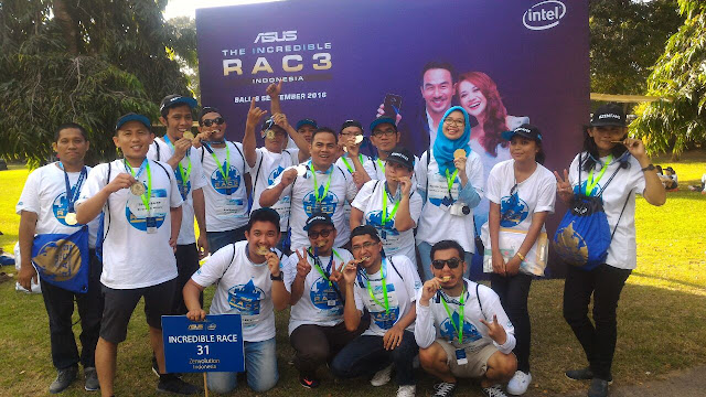 Asus Incredible Race 2016 di Nusa Dua Bali