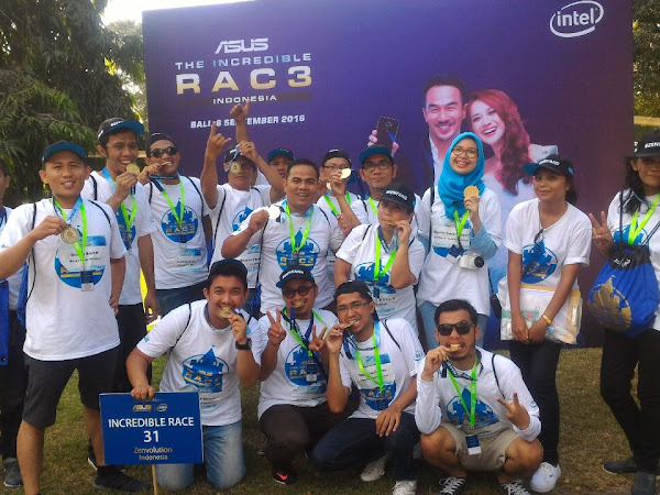 On Fire at Asus Incredible Race
