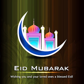 wishing you and your loved ones a blessed Eid