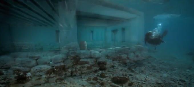 Η πόλη κάτω από τα κύματα-Παυλοπέτρι -Ελαφόνησος