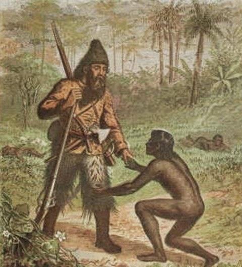 Robinson Crusoe- Venerdì-  Defoe