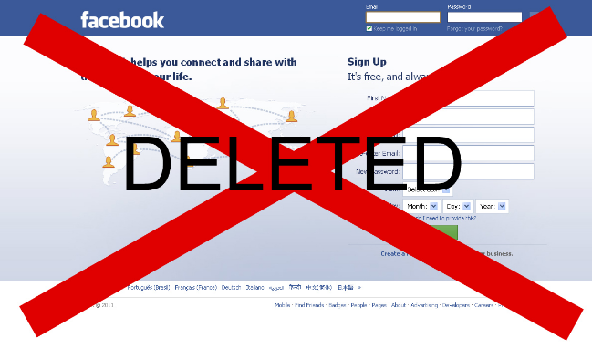How to Delete Your Facebook Account 2018