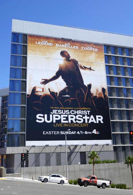 Jesus Christ Superstar Live Concert NBC billboard