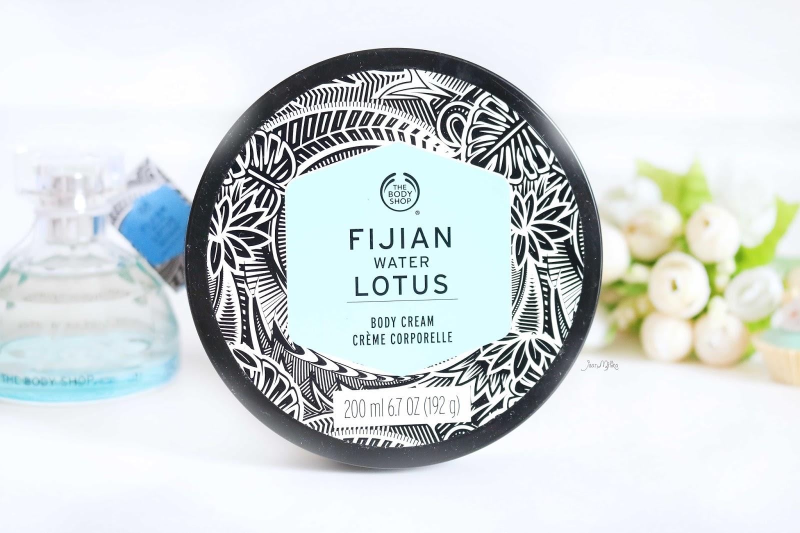 the body shop, body shop, review, beauty, skincare, fijian water lotus, the body shop voyage collection, voyage collection, body cream