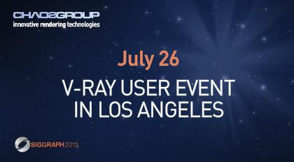 V-Ray LA User Event at Gnomon School of Visual Effects | Computer