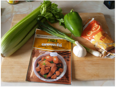 ... Free |: Vegetarian Recipe: Chinese Five Spice Quorn & Celery Stir Fry