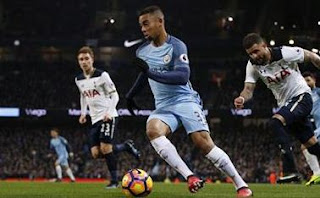 Video Gol Manchester City vs Tottenham Hotspur 2-2